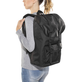 Herschel Little America Backpack Black/Black Rubber